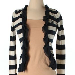 [a10-24] Gilly Hicks | striped cardigan